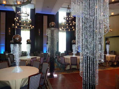 Class up Your Event from Tables to Ceilings with Centerpiece Chandeliers