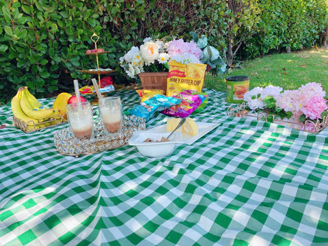 A Whimsical Backyard Picnic Setup to Swing into summer