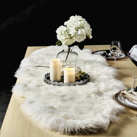 Indulge In Super Comfy Lifestyle With Faux Fur Sheepskin Rugs!