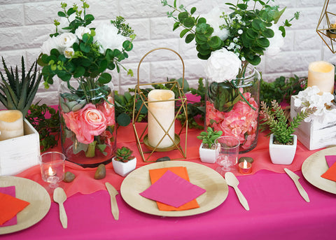 Create a Serene Summer Tablescape with Succulents!