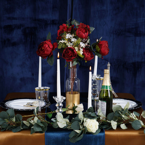 Fall in Love with our Posh Romantic Dinner Table Setup