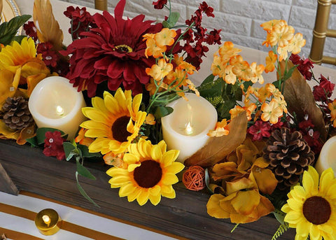 Spruce Up your Holiday Table with Chic Thanksgiving Centerpieces
