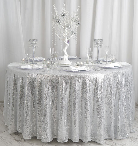 Ethereal Winter Wonderland Theme Table Decorations