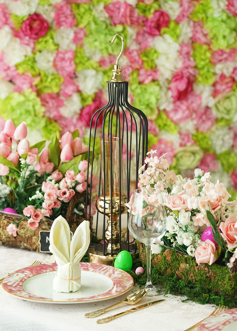 Embrace the Bohemian Flair of Our Moss Easter Theme