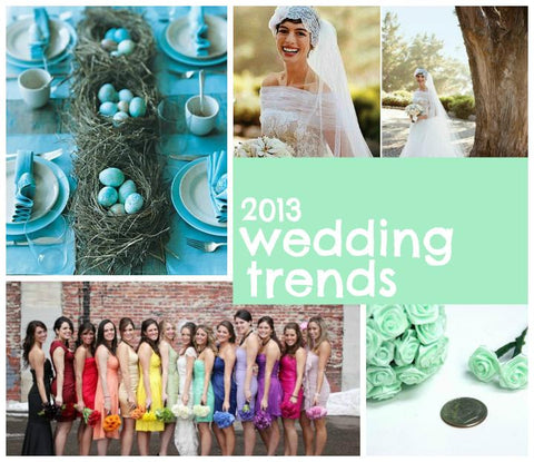 2013 Wedding Trend Report