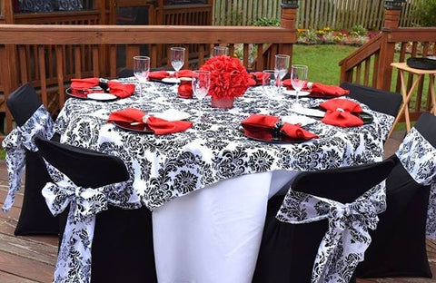 Add An Oomph Factor Into Your Tablescape With Our Tablecloths Collection!
