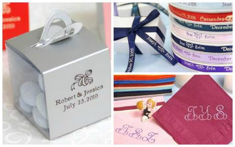Creative Ways to Use Personalized Favors & Accessories