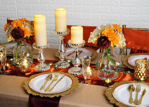 Set the Stage with Our Classy Thanksgiving Table Decor