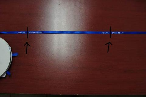 how to cut personalized ribbon 2