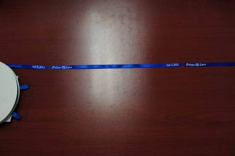 how to cut personalized ribbon 3