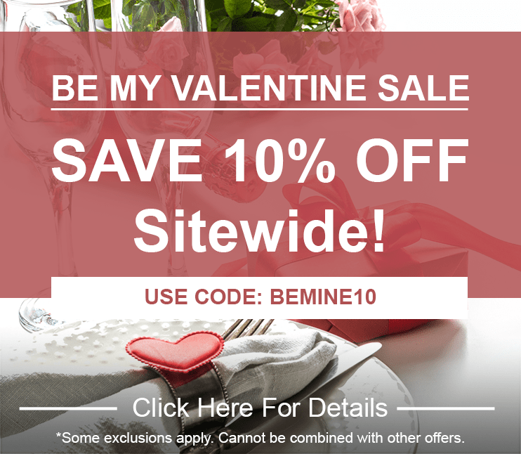 Missed our last deal? Don't worry, save 10% sitewide during our extended VIP Sale!