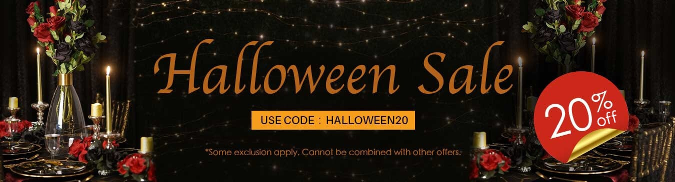 20% off Sitewide! Use Code: HALLOWEEN20