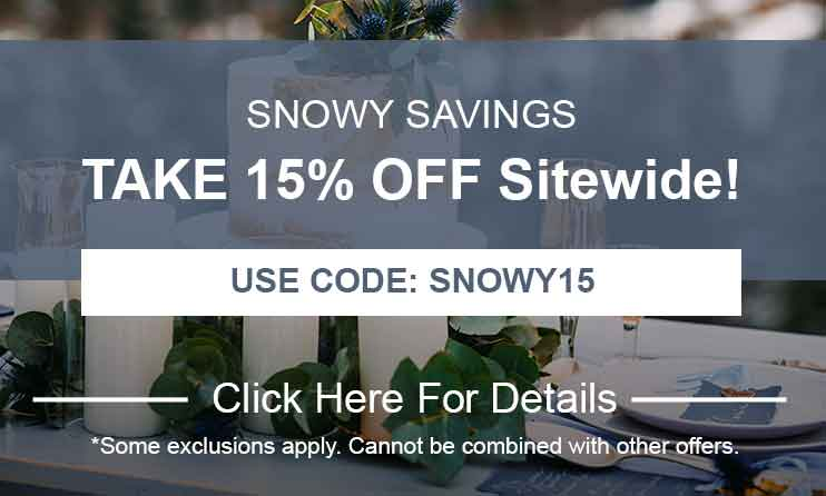 15% Off Storewide: Use Code: SNOWY15