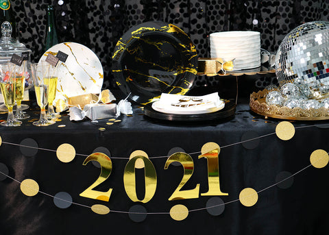 New Year's Eve decorations