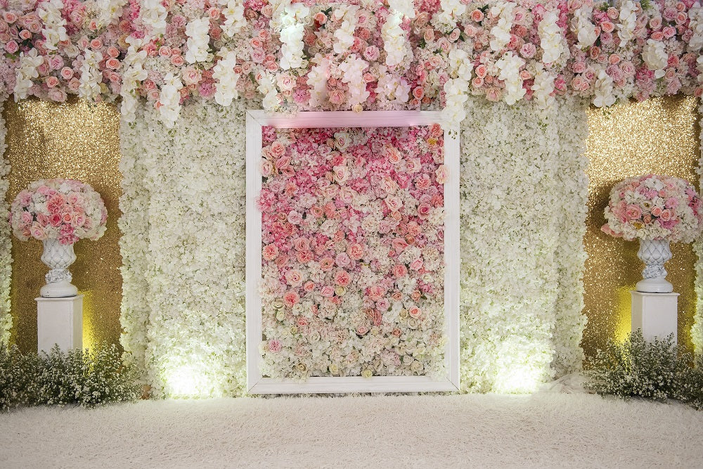 indoor wedding backdrop