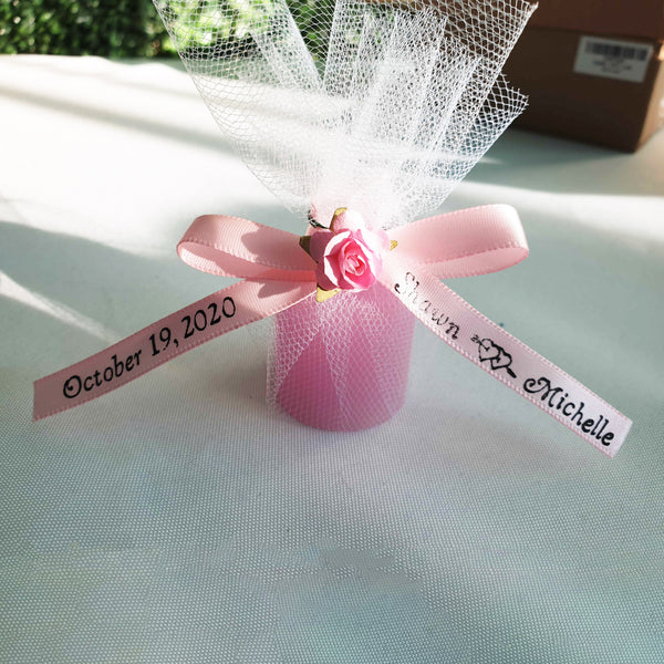 ANY MESSAGE PERSONALISED 100/% COTTON WEDDING FAVOUR BIB BOY OR GIRL GIFT