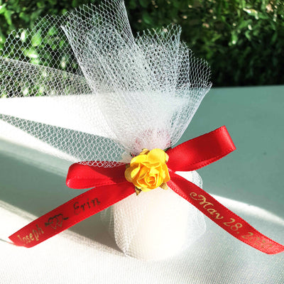 "DECORATION 8/"" W BURLAP BOW FOR  Party Wedding GIFTS"