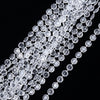 30 Ft Clear 10 MM Acrylic Crystal Diamond Chain Strand Bead By Roll