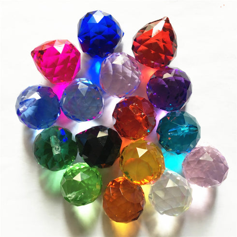 Acrylic Teardrop Crystals | 240 PCS | 20MM | Fushia | Chandelier Raindrop Crystals