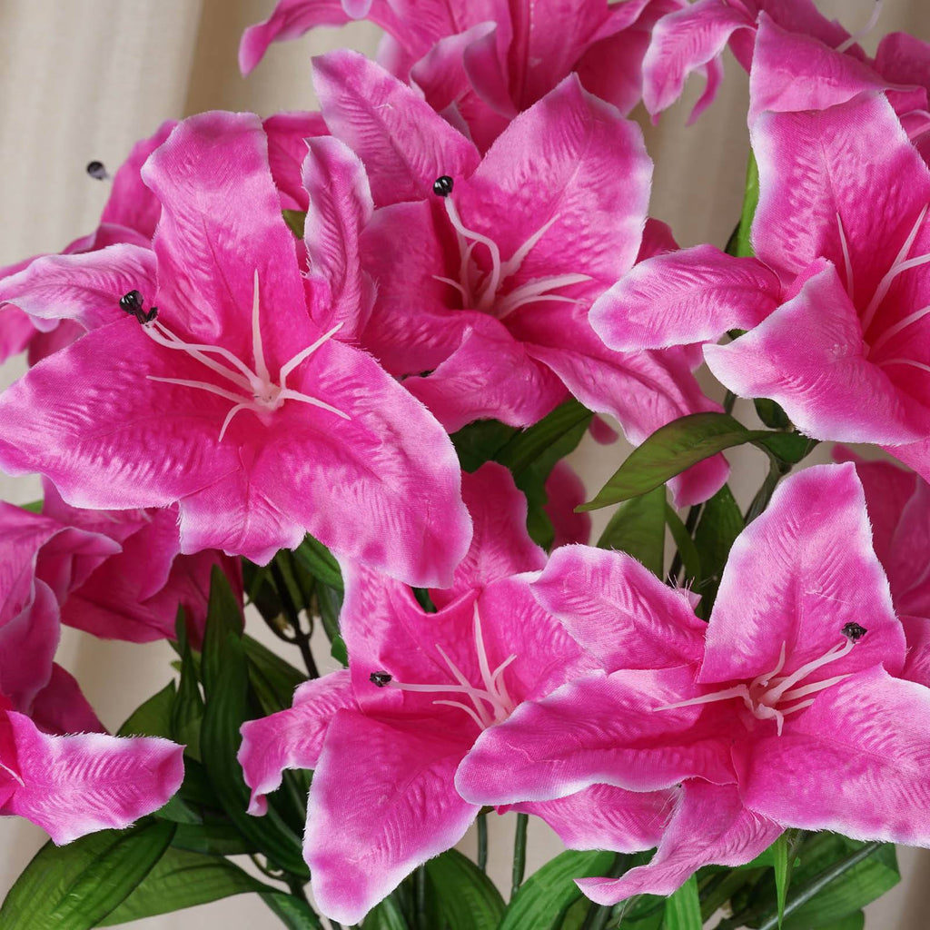 54 SUPERSIZED Casa Blanca Lilies Fushia