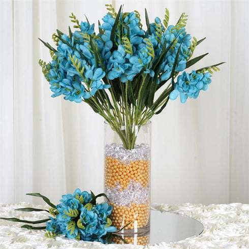 4 Heavenly Mount Olympus Freesia Bushes - Turquoise