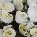 Velvet Rose Buds-Cream-84/pk