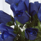 Velvet Rose Buds-Royal-84/pk