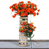 252 Carnation Flowers - Orange