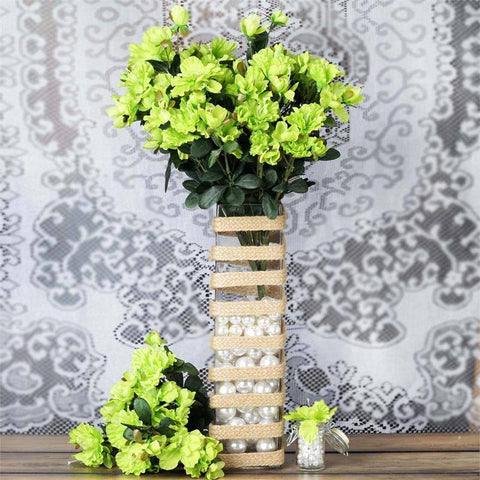 120 Undying Silk Gardenias Flowers - Lime