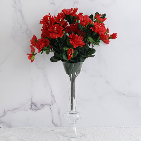 120 Undying Silk Gardenias Flowers - Red