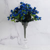 120 Undying Silk Gardenias Flowers - Royal Blue