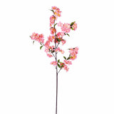 "10 Pack | 40"" Tall Blush Silk Artificial Flowers Cherry Blossoms Bushes"