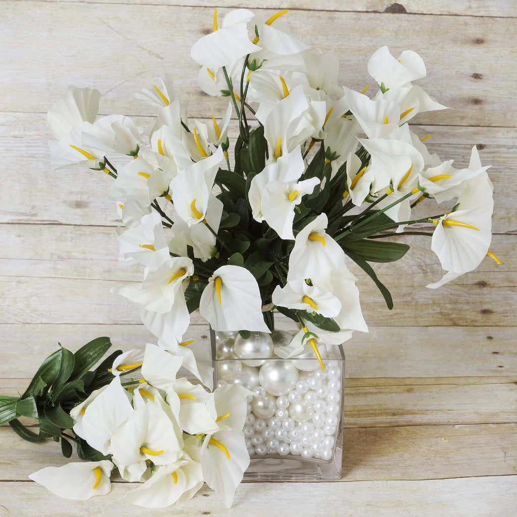 Lily Vase Wedding Flowers : Mini calla lily ivory efavormart