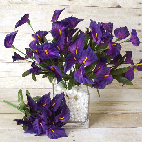 252 Mini Calla Lily - Purple