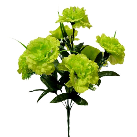 84 Large Jubilee Carnation Flowers Wedding Vase Centerpience Decor - Lime