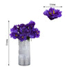 12 Bush 60 Pcs Purple Silk Artificial Peonies Bulk