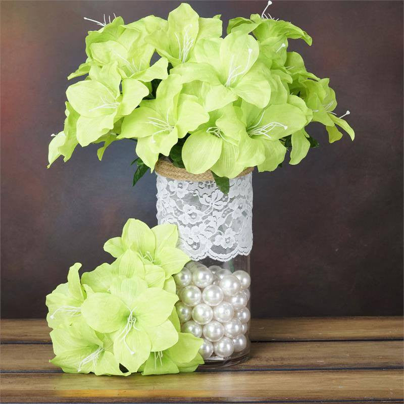 Lily Vase Wedding Flowers : Eastern lily lime efavormart
