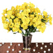 144 Artificial Silk Amaryllis Flowers - Yellow
