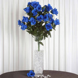 96 Giant Rose Bud Bush - Royal Blue