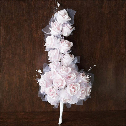 Hand-crafted Bouquet of Roses - Pink