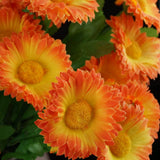 108 Silk Daisy - Orange