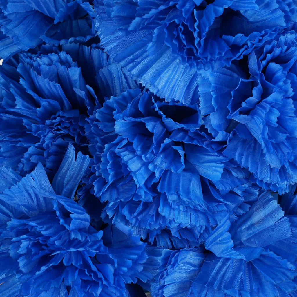 36 GIANT Your-Special-Day Carnations - Royal Blue