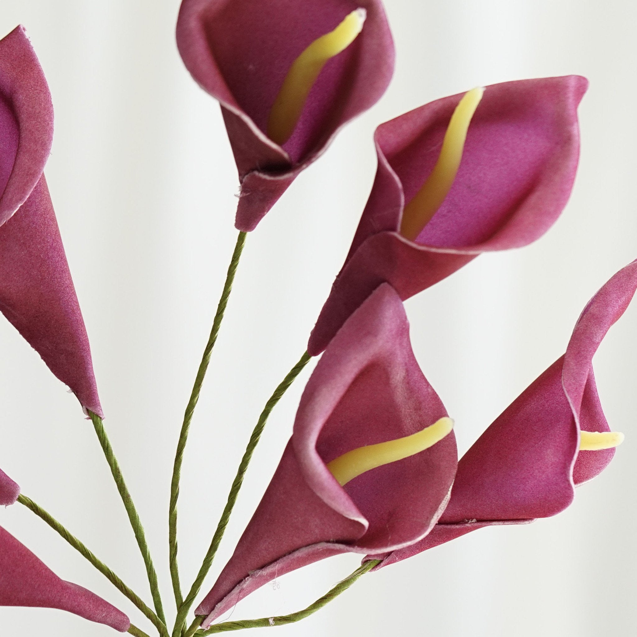 42 artificial purple giant calla lilies flowers wedding bridal 42 lifesize calla lilies purple izmirmasajfo