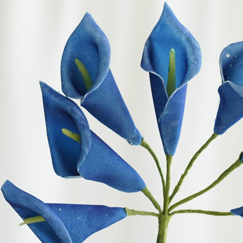 42 LIFESIZE Calla Lilies - Royal Blue