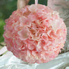 4 Pack  Hydrangea Kissing Flower Balls- Rose Gold | Blush