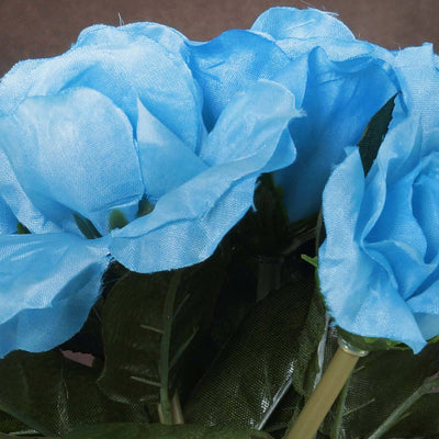 6 x The Perfect Hollywood Bouquet Turquoise Roses