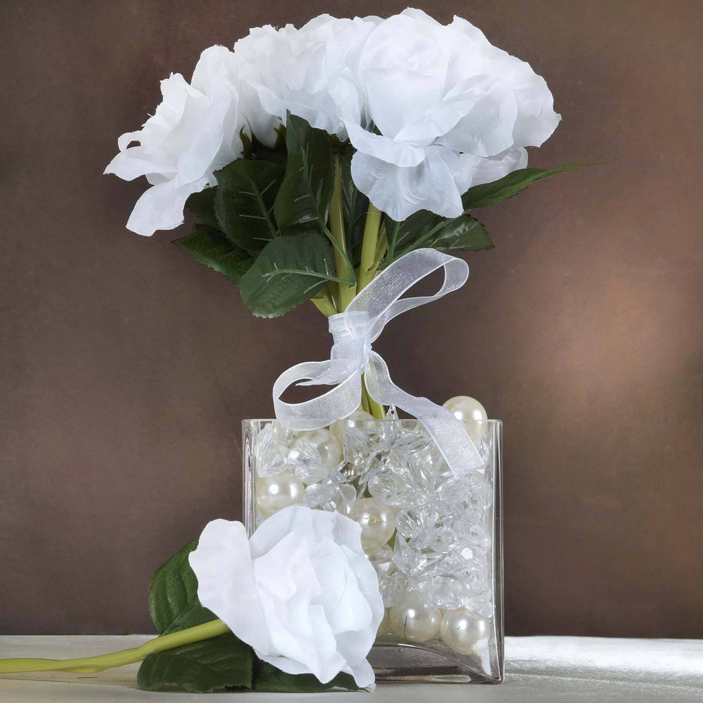 6 x The Perfect Hollywood Bouquet White Roses