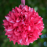 4 x LETS FLY TOGETHER Dahlia Kissing Balls Fushia