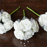 60 x SPECIAL EDITION Jadore! Silk Roses - White