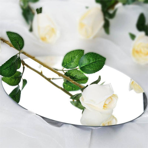 24 Long Stem Roses - Cream